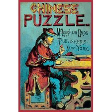 'Chinese Puzzle' Vintage Advertisement