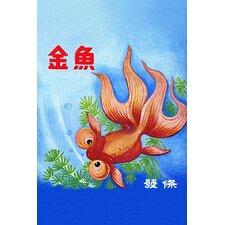 'Fancy Bubble Eye Goldfish'Graphic Art