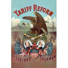 'Tariff Reform. Cleveland and Thurman' by S. Nagle & J. Hertgen Vintage Advertisement