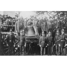 'Boston Police Watch Over The Liberty Bell That Has Arrived By Train' Photographic Print
