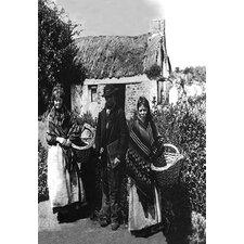 'Irish Peasants' Photographic Print