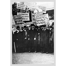 Clothing Workers Strike Photographic Print