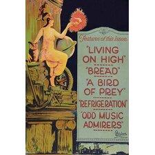 'Movie Chats' Vintage Advertisement