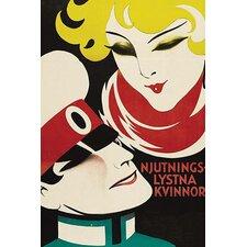 'Silver Slave Njutnings Lysta Kvinnor' Vintage Advertisement