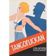 'Tango Movies Tangoflickan' Vintage Advertisement