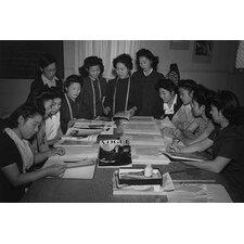 'Mrs. Ryie Yoshizawa, Teacher of Fashion and Designing' by Ansel Adams Photographic Print