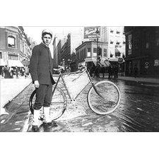 'New York City Bike Messenger' by Elizabeth Alice Austen Photographic Print
