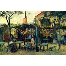 'Terrace of a Cafe' by Vincent Van Gogh Painting Print