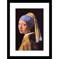 The Girl with the Pearl Earring Framed Painting Print