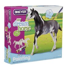 Arabian and Thoroughbred Paint Your Own Horse Play Set