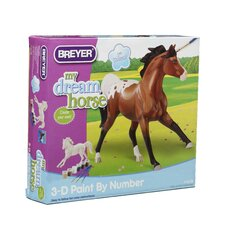 Appaloosa 3D Paint by Number Play Set