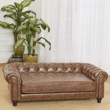 Wentworth Tufted Dog Sofa with Cushion