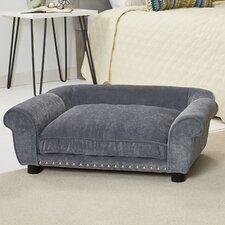 Dreamcatcher Velvet Dog Sofa with Cushion
