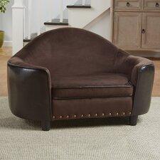 Lily Caldwell Headboard Storage Dog Sofa with Cushion