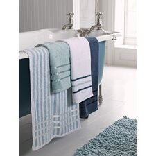 Lifestyle Stripe Cotton 4 Piece Towel Set