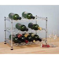 UltraZinc 12 Bottle Tabletop Wine Rack