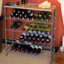 96 Bottle Floor Wine Rack