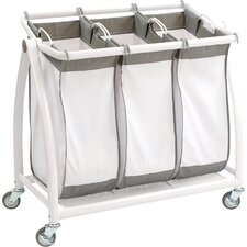 3 Bag Tilt Laundry Sorter