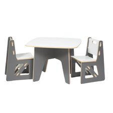 kids 3 piece table chair set