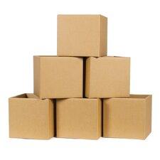 Cardboard Cubby Bin (Set of 6)