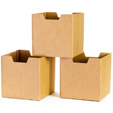 Cardboard Cubby Bin