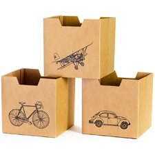 Vehicle Decorative Storage Box (Set of 3)