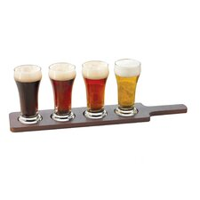 Craft Brews 4 Piece 6 Oz. Beer Glass Set