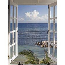 Leinwanddruck Fenster zum Paradies Kunstdruck von Katja Sucker