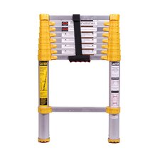8.5 ft Aluminum Telescoping Extension Ladder with 225 lb. Load Capacity