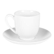 16 Piece Porcelain Coupe Tea Party Set