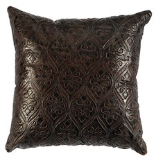 Leather Throw Pillow