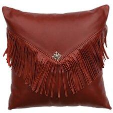 Redrock Canyon Leather Throw Pillow