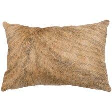 Leather/Suede Lumbar Pillow