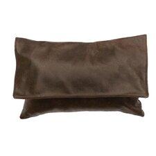 Hudson Leather Lumbar Pillow