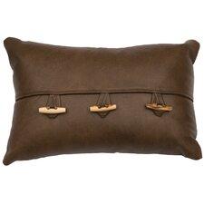 Leather Lumbar Pillow