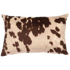 Faux Hair on Hide Lumbar Pillow