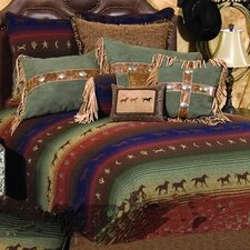 Mustang Canyon 7 Piece Bedding Set