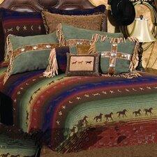 Mustang Canyon 4 Piece Bedding Set