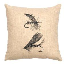 Flie Throw Pillow