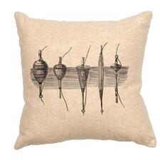 Bobbers Throw Pillow