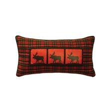 McWoods I Moose Heat Transfer Throw Pillow