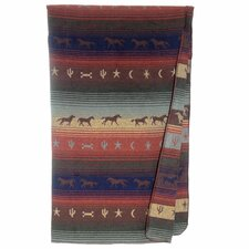 Mustang Canyon Wool Throw