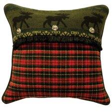 McWoods I Plaid Throw Pillow