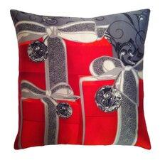 Holiday Elegance Gifts Silk Throw Pillow