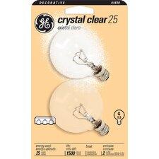 120-Volt (2500K) Incandescent Light Bulb (Pack of 2)