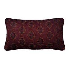 Diamond Jacquard Cotton Lumbar Pillow