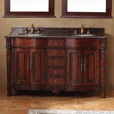 """Classico 60"""" Double Bathroom Vanity Set"""