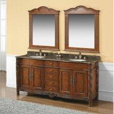 "Dalia 72"" Double Bathroom Vanity Set"