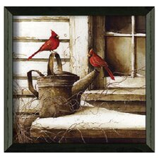 Waiting on Spring by John Rossin Framed Painting Print