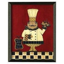 Chef by Scherry Talbott Framed Graphic Art